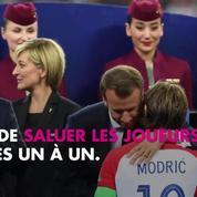 Les Bleus champions du monde : Qu'a dit Emmanuel Macron à Antoine Griezmann sur le podium ?