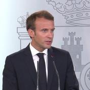Affaire Benalla: «une tempête dans un verre d'eau» (Emmanuel Macron)