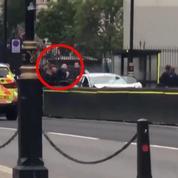 Londres : les images du conducteur interpellé par la police à Westminster