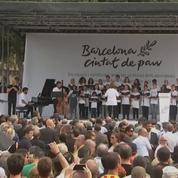 Attentats de Barcelone : l'hommage, un an après