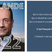 Des tracts «Hollande 2022» pour tester la popularité de l'ancien président