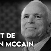 Décès de John McCain : drapeaux en berne à Washington