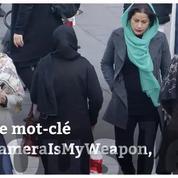 #MyCameraIsMyWeapon, le hashtag de protestation des Iraniennes contre le port du voile obligatoire