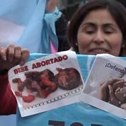 Argentine: manifestation contre l'avortement devant le Congrès