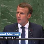 À l'ONU, Macron défend l' accord de Paris sur le climat