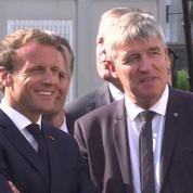 Rentrée 2018 : Emmanuel Macron en visite dans un collège de Laval