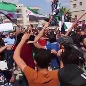 Idleb: des centaines de personnes protestent contre l'offensive du gouvernement