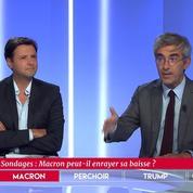 Sondages : Macron peut-il enrayer sa baisse ?