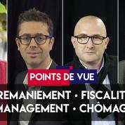Points de vue du 4 septembre : remaniement, fiscalité, management