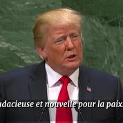 ONU : Trump vante son