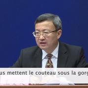 Guerre commerciale : « Les États-Unis nous mettent le couteau sous la gorge » dénonce Pékin