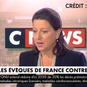 Agnès Buzyn sur la lettre des évêques de France contre la PMA : «Ayons un débat apaisé»