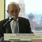 Syrie : Jean-Yves Le Drian dénonce les risques de «guerre perpétuelle» au Moyen-Orient