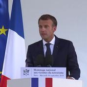 Emmanuel Macron annonce la création d'un musée-mémorial pour les victimes du terrorisme