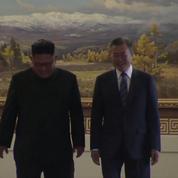 Sommet intercoréen : « Le Sud et le Nord se sont accordés pour éliminer tous les dangers de la guerre »
