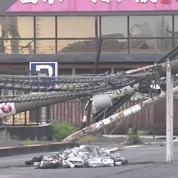 Japon : les images du chaos après le passage du typhon