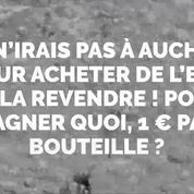 Une Belge écope de 414 euros d'amende pour avoir acheté de l'eau en France