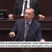 Affaire Khashoggi : Erdogan dénonce un assassinat « planifié » et veut un procès à Istanbul