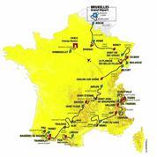 Le parcours du Tour de France 2019 en images
