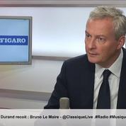 Bruno Le Maire : «Monsieur Mélenchon n'est pas la République»