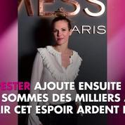 Lorie Pester atteinte d'endométriose : elle interpelle Emmanuel Macron