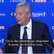 Bruno Le Maire : «Les difficultés actuelles sont banales»