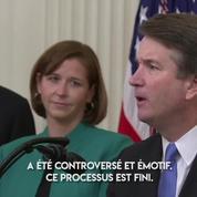 Kavanaugh investi à la Cour suprême américaine après un processus « controversé et émotif »