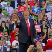 «Dangereux» et «dingos» : Donald Trump s'en prend aux démocrates pour les Midterms