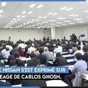 Le PDG de Nissan réagit à l'affaire Carlos Ghosn