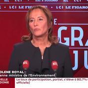PMA: Ségolène Royal estime que «ça fait partie de l'évolution de la société»