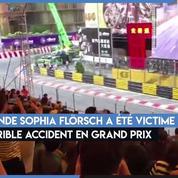 Un crash impressionnant en Formule 3 au Grand Prix de Macao