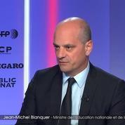 Jean-Michel Blanquer : «10,98 % des participants à la grêve (...) ce sont des chiffres qui sont assez bas»