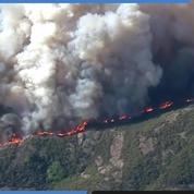 Camp Fire en Californie : d'impressionnantes images aériennes