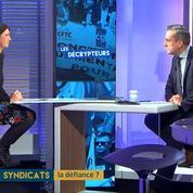 Cécile Crouzel : « Il y a une coupure entre les syndicats et la population »