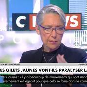 Élisabeth Borne sur les gilets jaunes: «Un certain nombre de partis politiques veulent récupérer le mouvement»