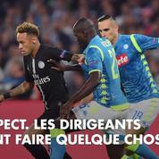 Naples-PSG : Neymar hors de lui à cause de l'arbitre, il s'explique