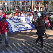 À Mexico, la caravane de migrants demande des bus à l'ONU