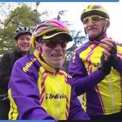 A 107 ans, il fête son anniversaire à vélo