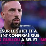 Franck Ribéry s'excuse après sa violente altercation avec un consultant de BeIN Sports