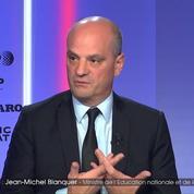Jean-Michel Blanquer « on a entre 20% et 30% des élèves qui ont des acquis fragiles »