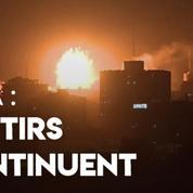 L'armée israélienne diffuse les images d'une frappe contre le Hamas