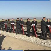 Corée du Nord et Corée du Sud reconnectent symboliquement leurs chemins ferroviaires et routiers