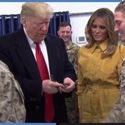 Pourquoi Trump a rendu visite aux soldats américains en Irak