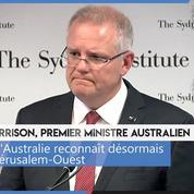 L'Australie reconnaît Jérusalem-Ouest comme la capitale d'Israël