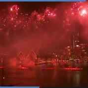 Le feu d'artifice traditionnel de Sydney en image