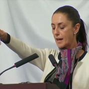 Claudia Sheinbaum, première femme maire de Mexico, prête serment