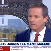 Dupont-Aignan accuse le gouvernement d'«instrumentaliser» l'attaque de Strasbourg pour «faire taire» les «gilets jaunes».
