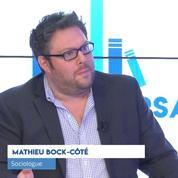 Mathieu Bock-Côté: « Il y a en France une poétisation de l'insurrection »
