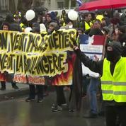 «Gilets jaunes» : Tensions entre manifestants et forces de l'ordre à Nantes