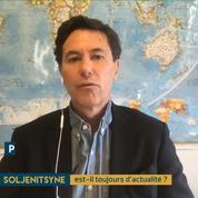 Philippe Gélie : « Soljenitsyne n'a pas profondément marqué la culture américaine. »